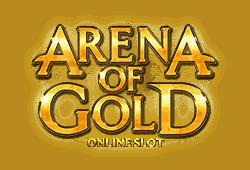 Microgaming - Arena of Gold slot logo
