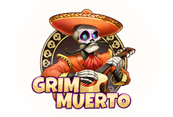 Play'n GO - Grim Muerto slot logo