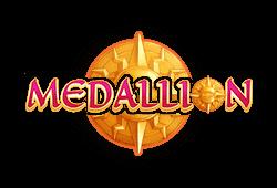 Fantasma Games - Medallion slot logo