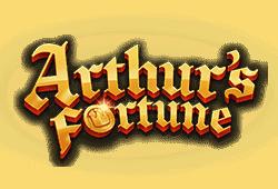 Yggdrasil - Arthur's Fortune slot logo