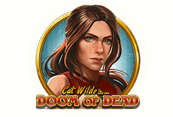 Play'n GO - Doom of Dead slot logo