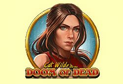 Play'n GO - Doom of Dead slot logo