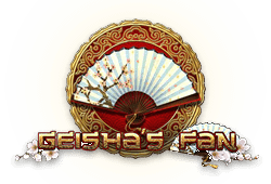 Tom Horn Gaming - Geisha's Fan slot logo