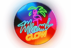 Microgaming - Miami Glow slot logo