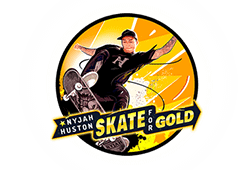 Play'n GO - Nyjah Huston Skate for Gold slot logo