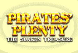 Red Tiger Gaming - Pirate's Plenty: The Sunken Treasure slot logo