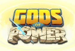 Golden Rock Studios - Gods of Power slot logo